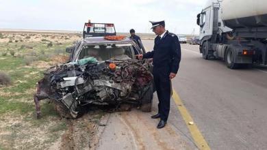"Photo of ""طريق الموت"" يواصل حصد الأرواح"