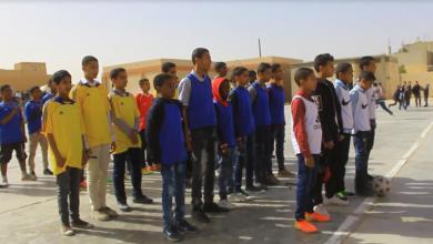 Photo of جالو: مباراة كرة قدم بين الاتحاد واللبة مدارس