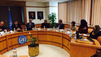 اجتماع سعد عقوب مع المكتب الإقليمي لمنظمة الصحة العالمية بشمال أفريقيا والشرق الأوسط - القاهرة