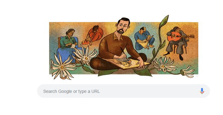 غوغل يحتفي بالفنان السوري لؤي كيالي
