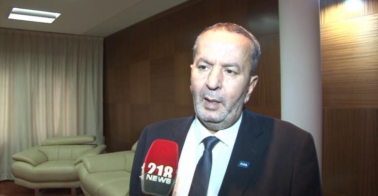 رئيس الاتحاد الليبي لكرة القدم المكلف عبد الحكيم الشلماني