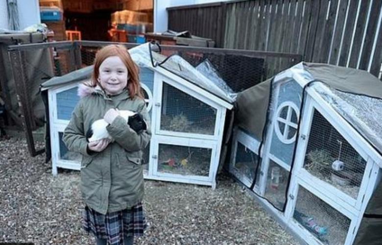 عائلة بريطانية تسكن مع 46 حيواناً