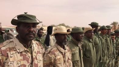 منتسبو منطقة أوباري غات العسكرية