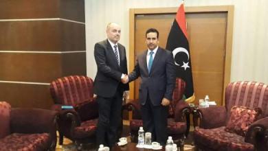 Photo of بحث سبل تعزيز العلاقات الليبية الأوروبية