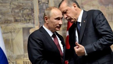 الرئيس الروسي فلاديمير بوتين والرئيس التركي رجب طيب أردوغان - ارشيفية