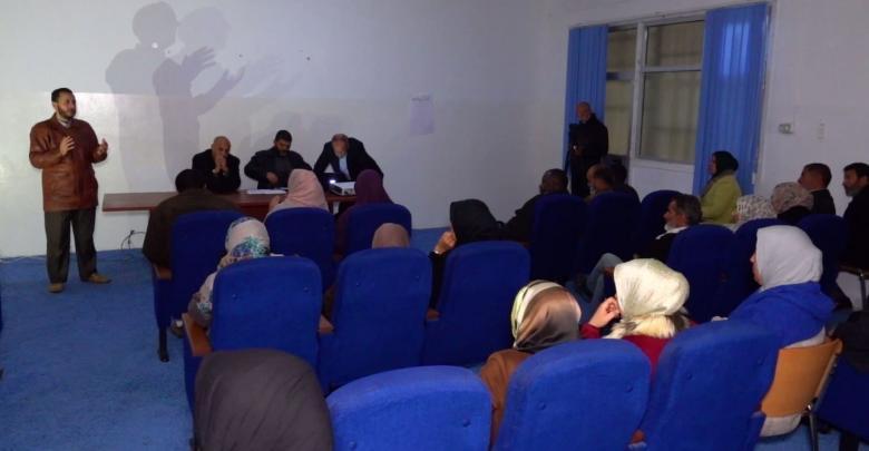 دورة تدريبية في جامعة زوارة لتطوير الكوادر التعليمية