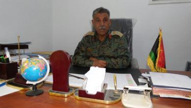 آمر المنطقة العميد محمد الطحيش
