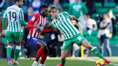 أتلتيكو مدريد يسقط أمام بيتيس