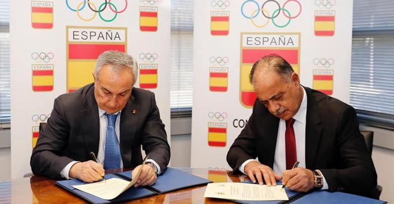 اتفاق بين الأولمبية الليبية والإسبانية على تعاون مشترك