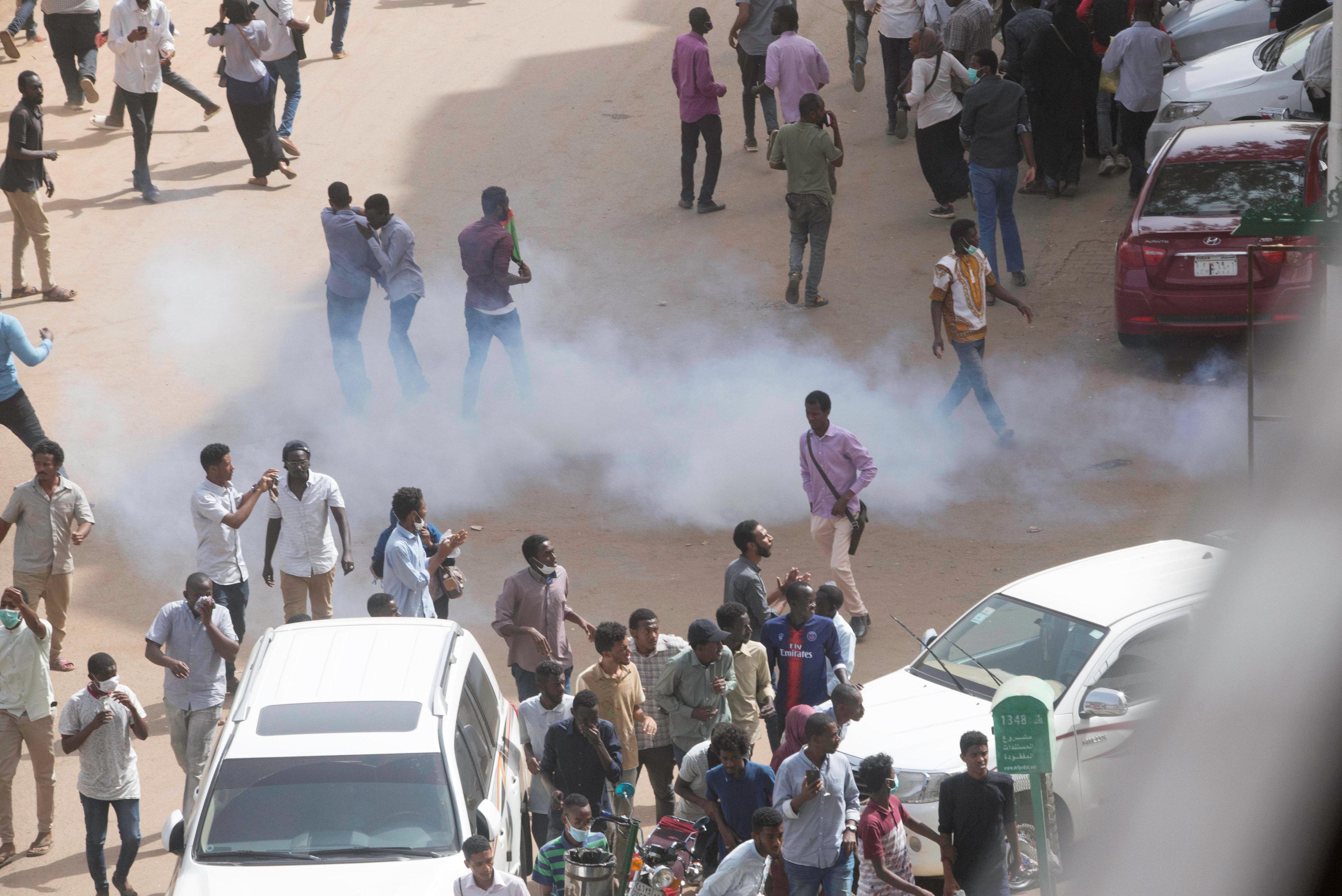 احتجاجات السودانية