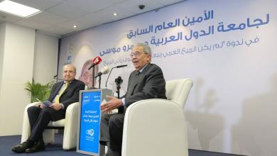 الأمين العام الأسبق لجامعة الدول العربية عمرو موسى