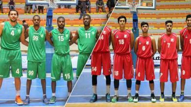 الأهلي بنغازي والنصر لكرة السلة
