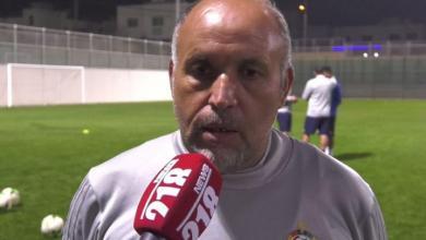 مدرب حراس المنتخب الوطني محمد البوسيفي