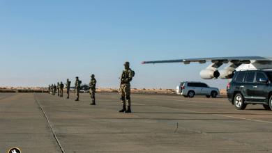 صورة قيادات الجيش الوطني بقاعدة تمنهنت (صور)