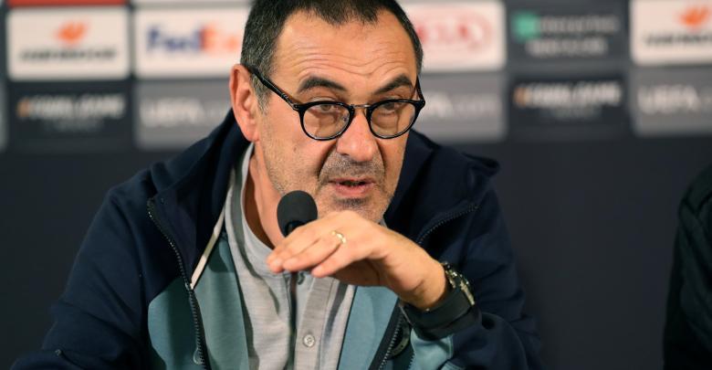 المدرب تشيلسي الإيطالي ماوريسيو ساري