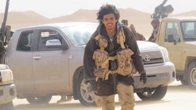 آمر سرية الحماية بالكتيبة 128 مشاة الضابط عمر الزوي