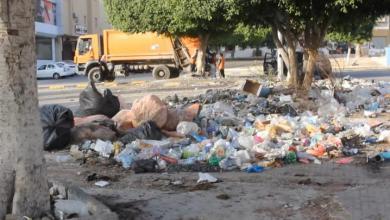 Photo of بحث سبل معالجة تكدس القمامة في تاجوراء