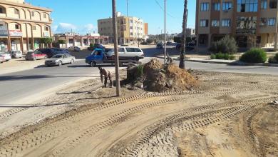 Photo of حملة صيانة مُوسّعة لشوارع طبرق
