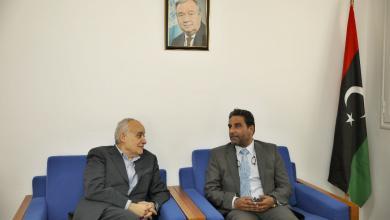 عبد السلام نصية وغسان سلامة