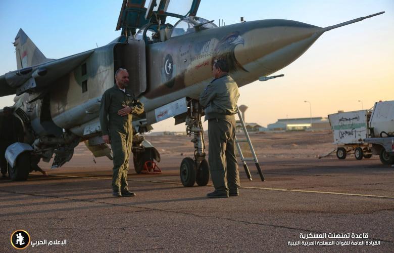 سلاح الجوي الليبي - المرزق