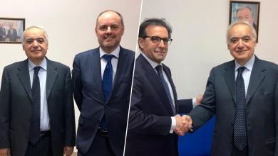 سلامة يبحث مع سفراء أوروبيين تطورات أوضاع ليبيا
