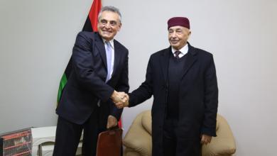 صالح يبحث مع غاريمالدي تطورات أزمة ليبيا