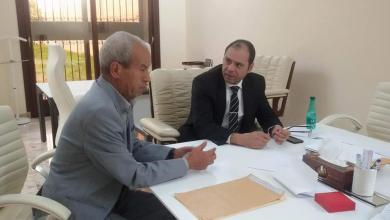 عثمان عبدالجليل - رئيس المجلس المحلي تاورغاء عبدالرحمن الشكشاك