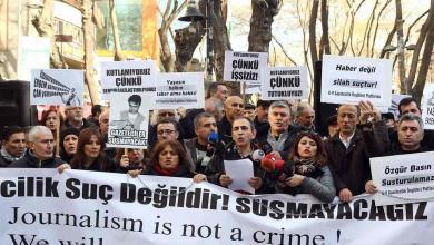 Photo of العام 2018 عام انتهاك الحريات الصحفية في تركيا