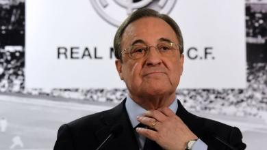فلورنتينيو بيريز رئيس نادي ريال مدريد الإسباني