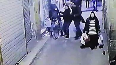 لحظة تفجير الإرهابي نفسه بوسط القاهرة