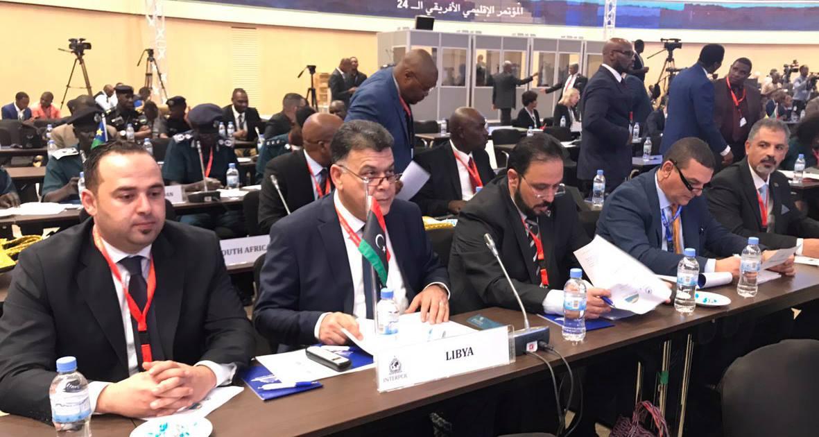 ليبيا تشارك بأعمال المؤتمر الإقليمي الأفريقي الـ24