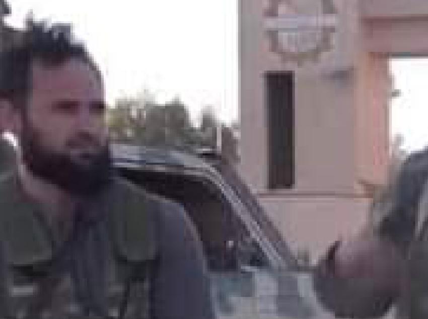محمد الطشاني - رئيس مركز الشرطة التابع لشورى درنة