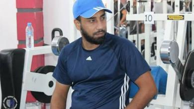 المدرب المساعد للمنتخب الأولمبي محمد الككلي