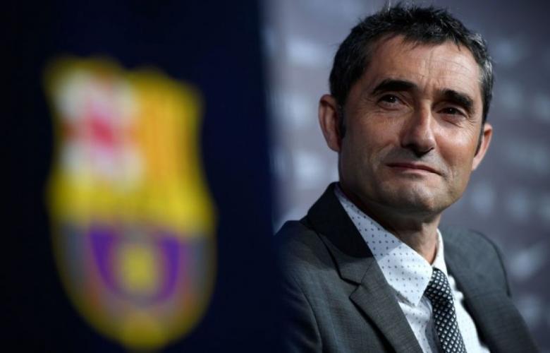 مدرب برشلونة أرنستو فالفيردي