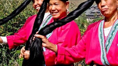 نساء قرية هوانغ لوه