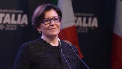 وزيرة الدفاع الإيطالية إليزابيتا ترينتا