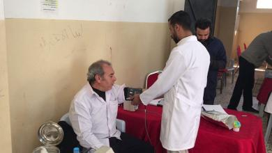 حملة تبرع بالدم في الحرشة ينظمها نادي ابن زيدون