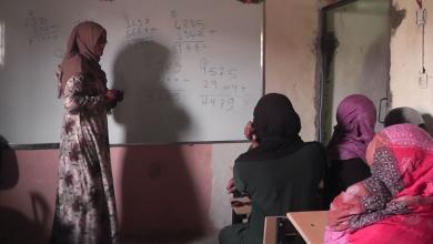 تارتيت تتطوع لتعليم نساء حي الكرامة وأطفاله في ظروف قاسية