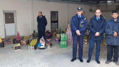 الحرس البلدي بالمرج يصادر ويتلف مواد منتهية الصلاحية