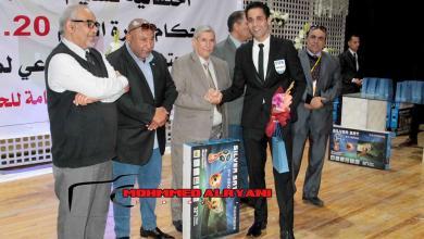 Photo of تسليم الشارات الدولية للحكام في بنغازي