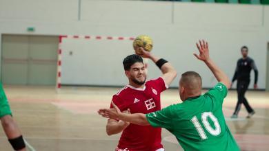Photo of الاتحاد يتجاوز المشعل في دوري اليد