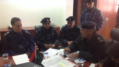 صورة بحث استعدادات تأمين احتفالات الثورة في طرابلس