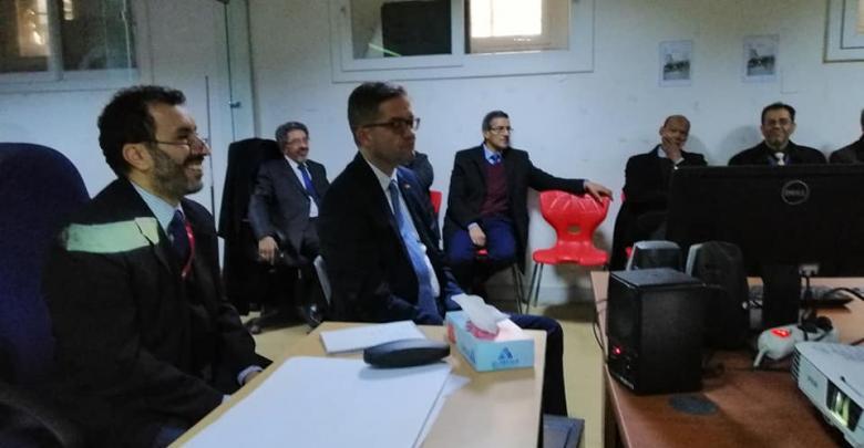 كلية الفنونوالإعلام طرابلس والجامعات الألمانية