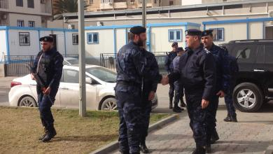 صورة فتح الله يتابع عمل الأمن المركزي طرابلس