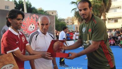 صورة إدارة الأهلي بنغازي ترفض استقالة بن عامر