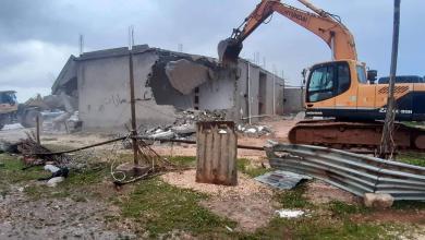 البناء العشوائي في بنينا - بنغازي