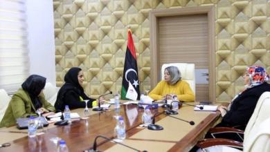 Photo of بحث سبل تمكينوحدة دعم المرأة بالرئاسي