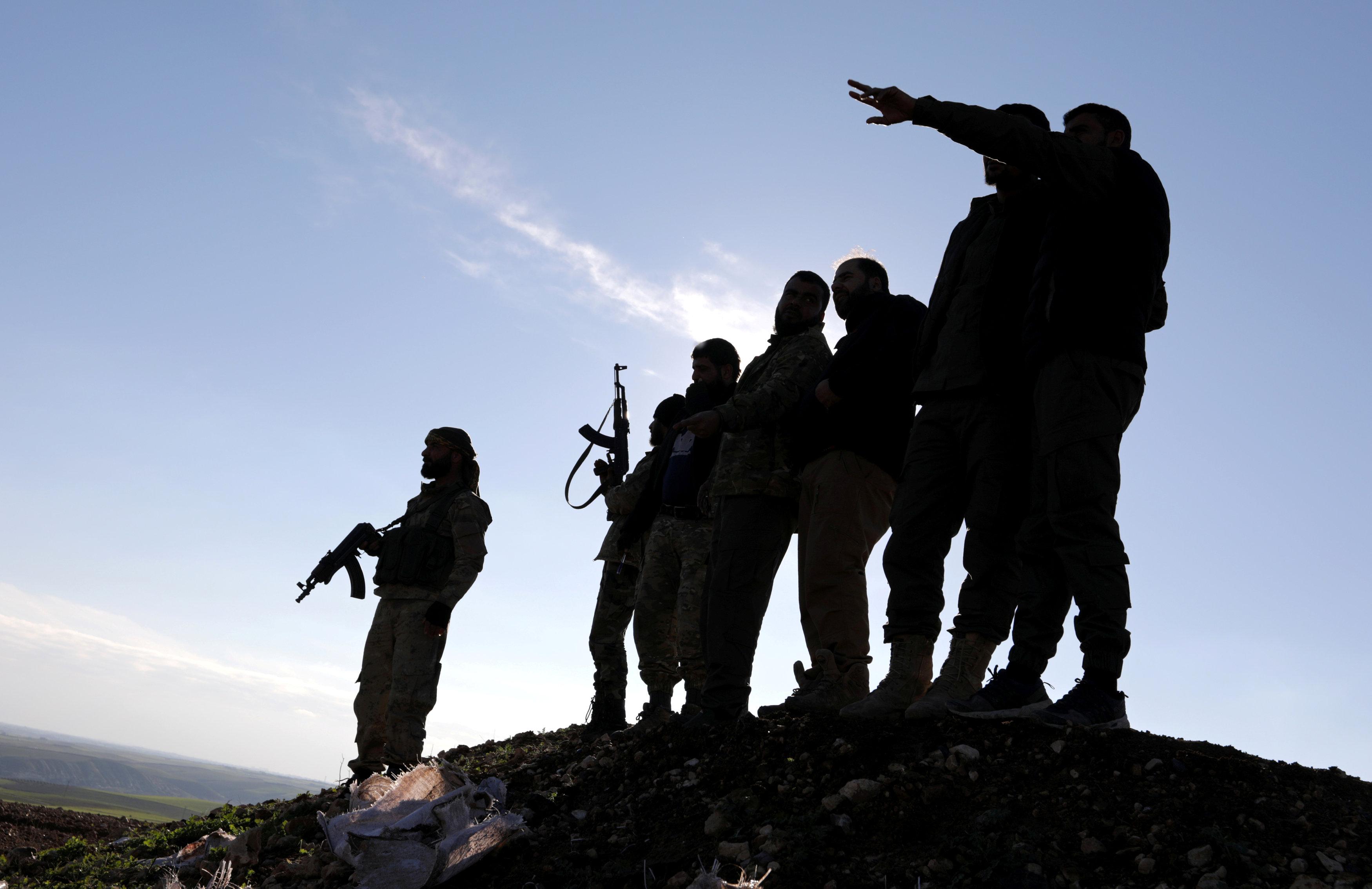 أميركا تطالب بالأسرى الدواعش لدى القوات السورية الكردية الحليفة