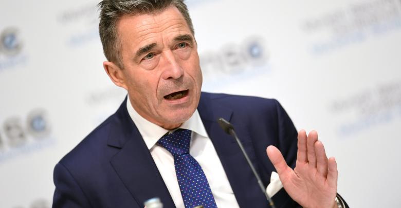 """الأمين العام السابق لحلف """"الناتو"""" أندرس راسموسن"""