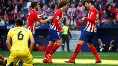 Photo of أتلتيكو مدريد يواصل ملاحقة برشلونة